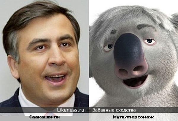 Саакашвили чудо-зверь