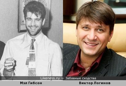 Молодой Мэл Гибсон похож на Виктора Логинова
