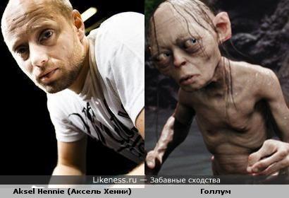 Aksel Hennie (Аксель Хенни) vs Голлум