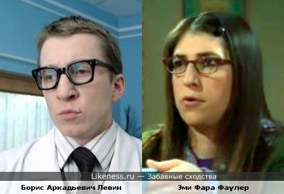 Борис Аркадьевич Левин vs Эми Фара Фаулер