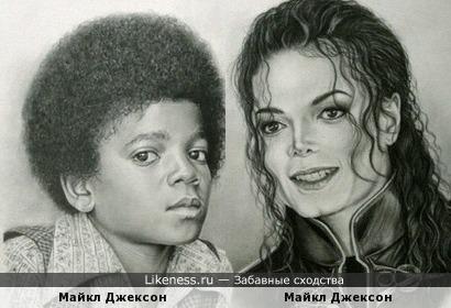 Анти сходство Майкла Джексона