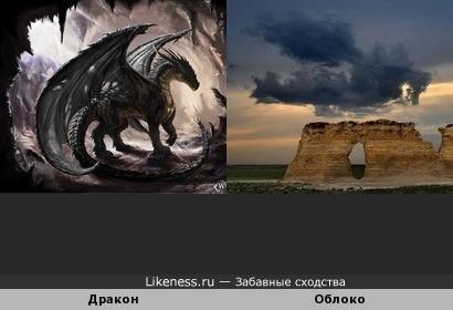 Дракон vs Облоко
