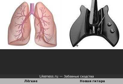 Лёгкие vs гитара
