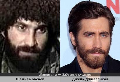 Шамиль Басаев чем-то похож на Джейка Джилленхола