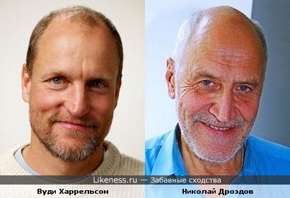 Вуди Харрельсон и Николай Дроздов