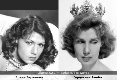 Елена Бирюкова на этом фото немного напоминает герцогиню Альбу в молодости