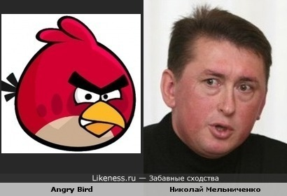 Angry Bird и Николай Мельниченко