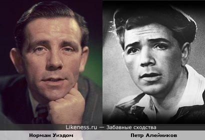 Норман Уиздом и Петр Алейников