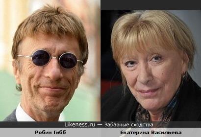 Робин Гибб напомнил Екатерину Васильеву :)