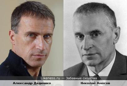 Александр Дедюшко и Николай Амосов