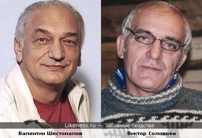 Валентин Шестопалов и Виктор Соловьёв