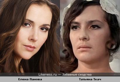 Елена Панова и Татьяна Ткач