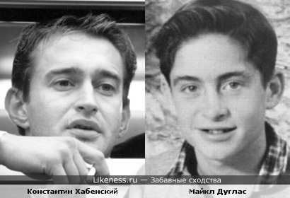 Константин Хабенский и Майкл Дуглас
