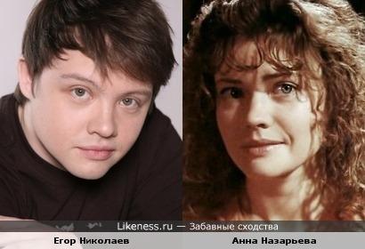 Егор Николаев и Анна Назарьева
