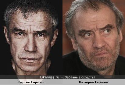 Сергей Гармаш и Валерий Гергиев