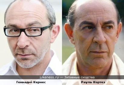Геннадий Кернес и Рауль Кортез