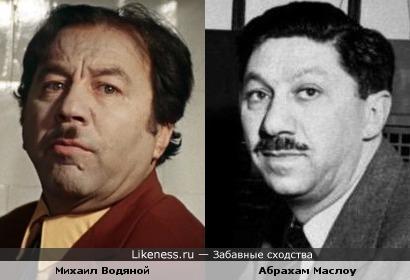 Михаил Водяной и Абрахам Маслоу