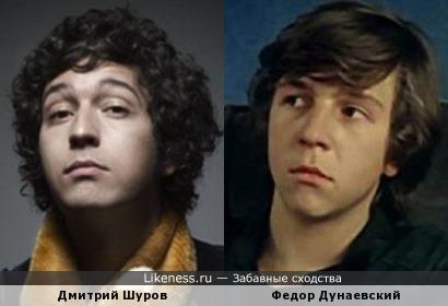 Дмитрий Шуров и Федор Дунаевский
