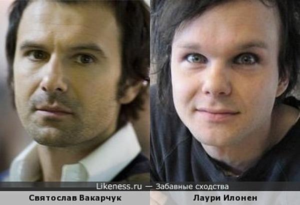 Святослав Вакарчук и Лаури Илонен