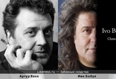 Артур Ваха и Иво Бобул