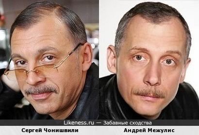 Сергей Чонишвили и Андрей Межулис