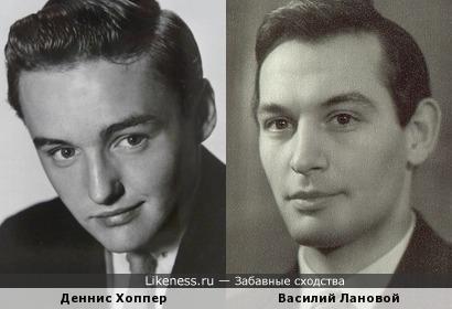 Деннис Хоппер и Василий Лановой