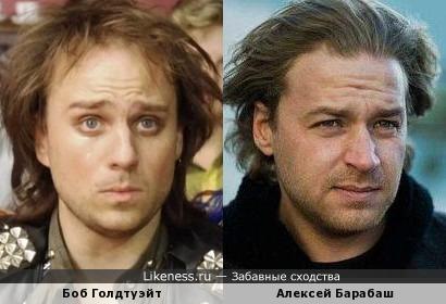 Боб Голдтуэйт и Алексей Барабаш