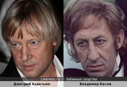 Дмитрий Харатьян и Владимир Басов