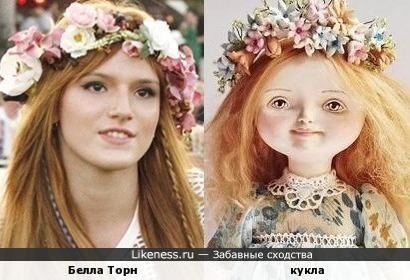 Белла Торн и кукла
