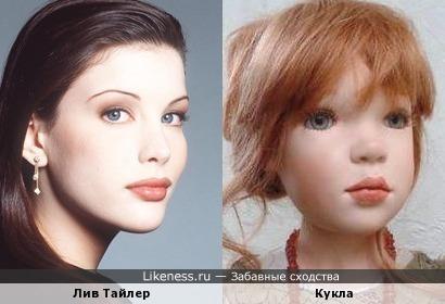 Лив Тайлер и кукла