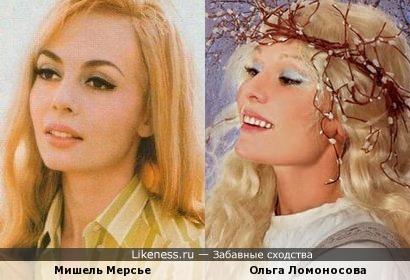 Ольга Ломоносова в фотопроекте Екатерины Рождественской «Сказки» напомнила Мишель Мерсье