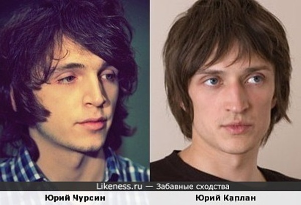 Юрий Каплан и Юрий Чурсин
