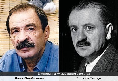 Илья Олейников и Золтан Тилди