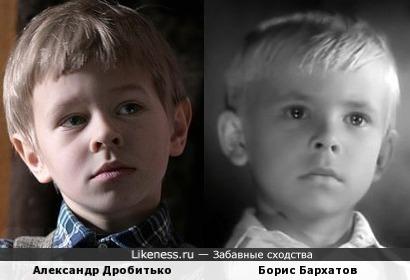 Александр Дробитько и Борис Бархатов