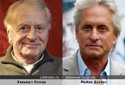 Хельмут Лонер и Майкл Дуглас