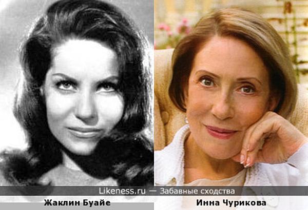Французская певица напомнила Инну Чурикову