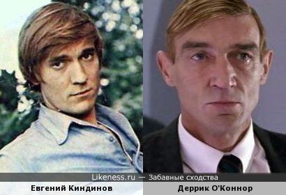 Евгений Киндинов и Деррик О'Коннор