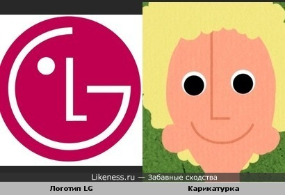 Эта физиономия напоминает логотип LG
