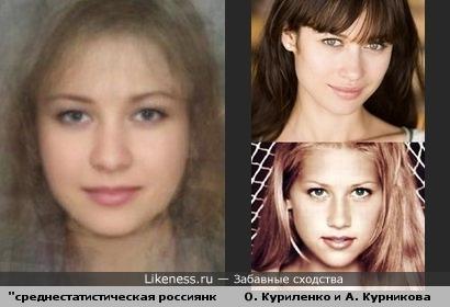 """Такое ощущение, что при создании """"обобщённого портрета россиянки"""" авторы не очень-то заморачивались )"""