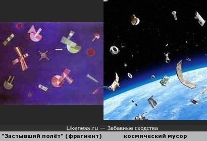 Картина В. Кандинского 1932г как предсказание.