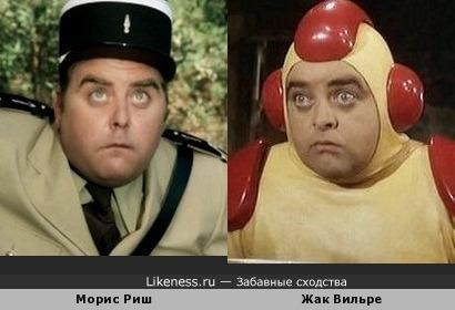 """Французики - пучеглазики: """"жандарм"""" и """"инопланетянин"""""""