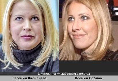 Блондинки в разных весовых категориях
