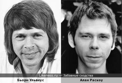 Бьорн Ульвеус и Алан Раскоу