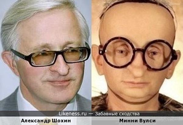 Александр Шохин похож на Минни Вулси