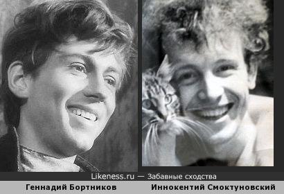 На этих фото актёры показались похожими