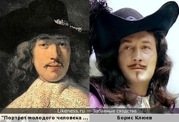 Портрет молодого человека Рембрандта напоминает Бориса Клюева