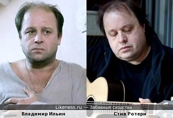 """Гитарист группы """"Marillion"""" Стив Ротери очень напоминает актёра Владимира Ильина"""