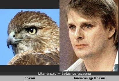 Клювик и Носик: есть в этом актёре что-то от благородной птицы.)