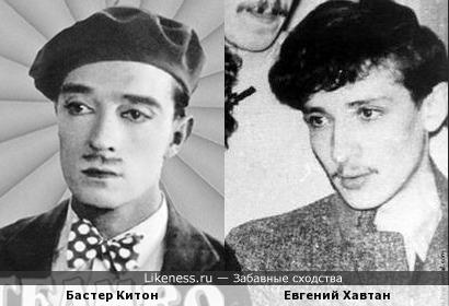 """Бастер Китон в фильме """"Пароходный Билл-младший"""
