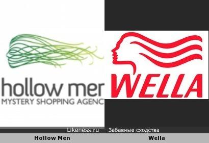 """Логотип агентства, предоставляющего услуги """"тайных покупателей"""", напомнил эмблему компании Wella"""